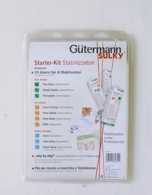 kit de 10 distintos estabilizadores guttermann