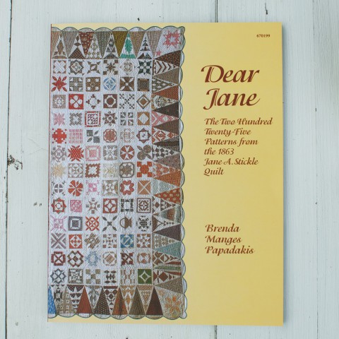 Libro de patchwork Dear Jane