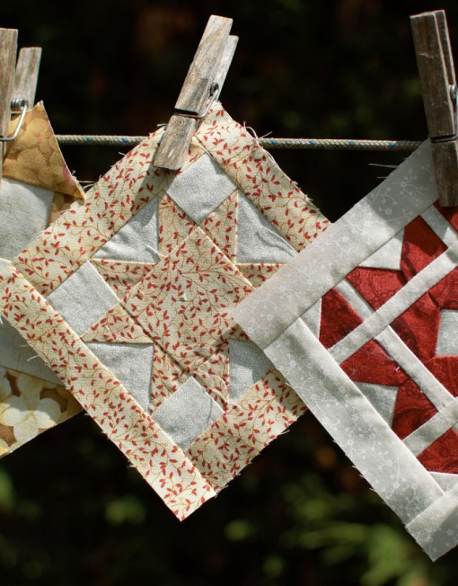 Bloques de patchwork Dear Jane
