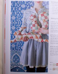 Cojines del libro de patchwork Tilda Sewing by Heart
