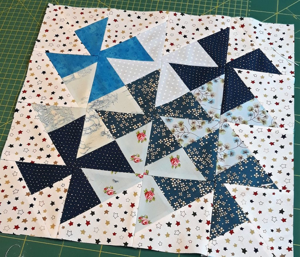 Bloque square dance patchwork