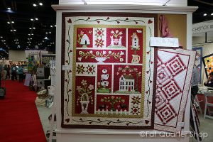 Colcha From the Heart de patchwork